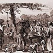 African American Freedmen Receiving Poster