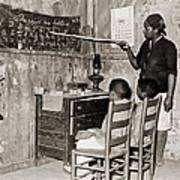 African American Mother Teaching Poster by Everett