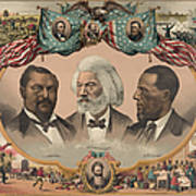 African Americans, C1881 Poster