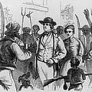 After John Browns Harpers Ferry Raid Poster by Everett