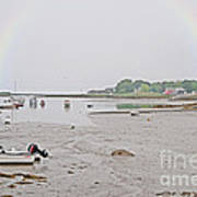 After The Rain Kennebunkport Maine Poster
