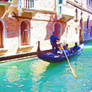 Afternoon In A Gondola Poster