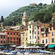 Afternoon In Portofino Poster