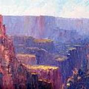 Afternoon In The Canyon Poster