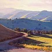 Afternoon Light Kanimbla Valley Poster