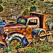Aging Truck Poster