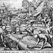 Agriculture: Spring, C1555 Poster