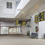 Airport Concourse Poster