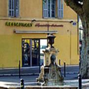 Aix En Provence Fountain Poster