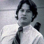 Al Gore At 22 Years Old Poster by Everett