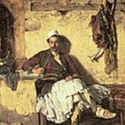 Albanian Sentinel Resting Poster