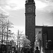 Albert Clock Belfast Poster