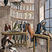 Albrecht Von Haller In Lab Poster