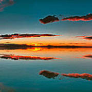 Albufera Panoramic View. Spain Poster