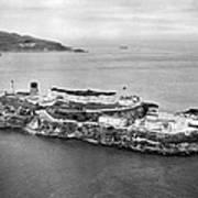 Alcatraz Island And Prison Poster