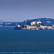 Alcatraz Island In San Francisco Bay Poster