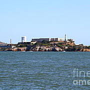 Alcatraz Island In San Francisco California . West Side . 7d14007 Poster by Wingsdomain Art and Photography