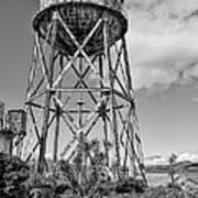 Alcatraz Penitentiary Water Tower Poster