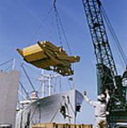 Alcoa Ship Destines For South America Poster