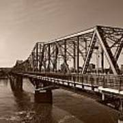 Alexandria Bridge Poster