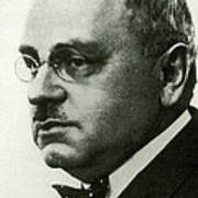 Alfred Adler, Austrian Psychologist Poster