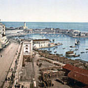 Algiers - Algeria - Harbor And Admiralty Poster