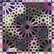 Alhambra Pattern Poster