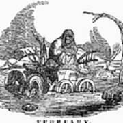 Allegory: February, 1837 Poster