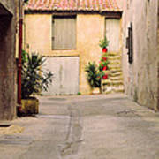 Alley In Arles France Poster