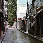 Alley In Old Quebec Poster