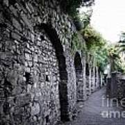 Alley With Arches Poster