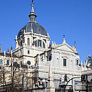 Almudena Cathedral In Madrid Poster