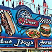 Al's All American Diner Poster