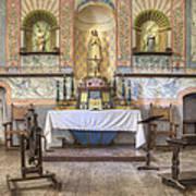 Altar At Mission La Purisima State Poster