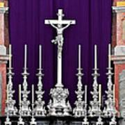 Altar Dresdener Hofkirche Poster