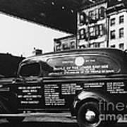 Ambulance, Late 1930s, Nyc Poster