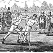 American Boxing, 1859 Poster