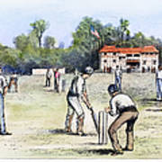 American Cricket, 1882 Poster