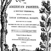 American Pioneer, 1842 Poster