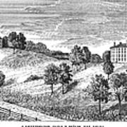 Amherst College, 1821 Poster
