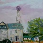 Amish Farmhouse Poster