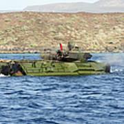 Amphibious Assault Vehicle Crewmen Poster