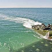 Amphibious Assault Vehicles Enter Poster