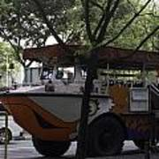 Amphibious Vehicle Used For Ducktour In Singapore Poster