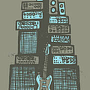 Ampliphones Poster by A Hornsby
