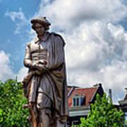 Amsterdam Statue 2007 Poster