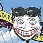 Amused Joker Poster