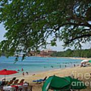 An Active Sosua Beach In Dr Poster