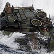 An Amphibious Assault Vehicle Poster