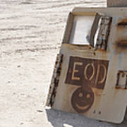 An Explosive Ordnance Disposal Logo Poster